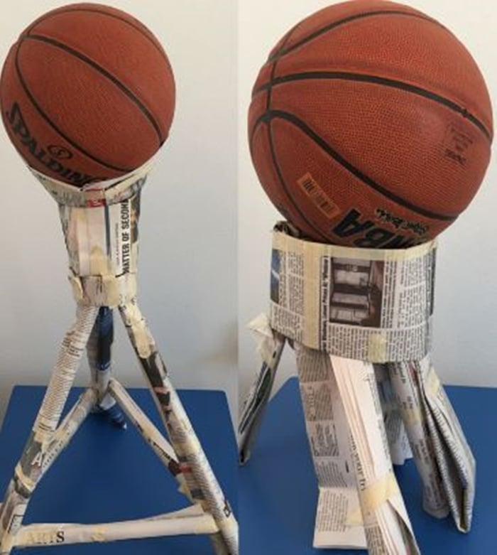 28 Awesome STEM Challenges for the Elementary Classroom - Basketball Challenge - Teach Junkie