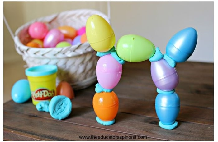 28 Awesome STEM Challenges for the Elementary Classroom - Plastic Egg Tower - Teach Junkie