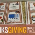 2nd Grade Thanksgiving Math Task Cards - Teach Junkie