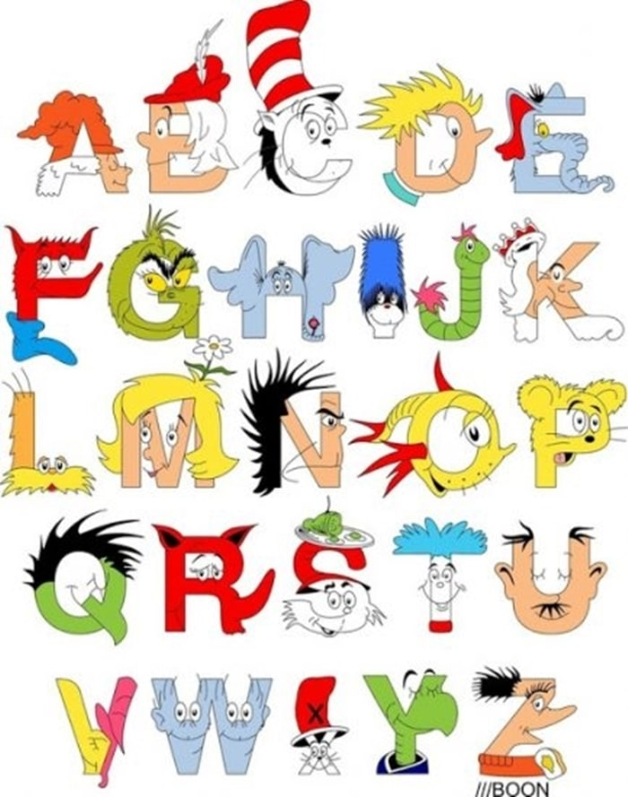 31 Ideas for Read Across America and Dr. Seuss - Character Search