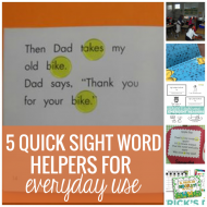 5 Quick Sight Word Helpers for Everyday Use