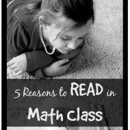 It Pays to Read When Teaching Math: 5 Reasons Why