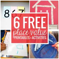 6 Free Place Value Printables and Activities