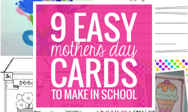 9 Easy Mothers Day Cards to Make in School
