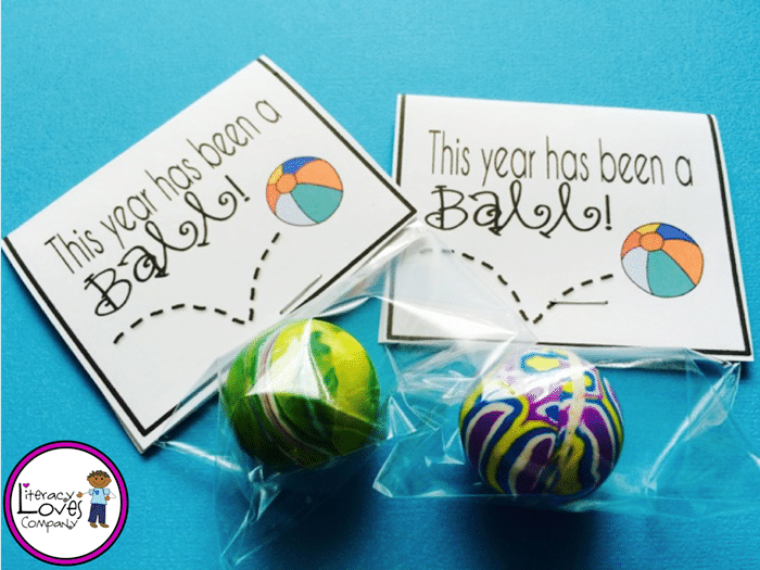 9 Excellent End of the Year Gifts for $1 - Bouncy Ball - Teach Junkie