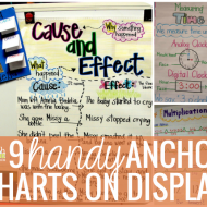 9 Handy Anchor Charts on Display