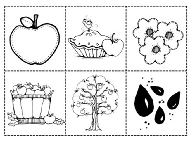 22 Applelicious Classroom Activities and Freebies Teach Junkie – Kindergarten Apple Worksheets