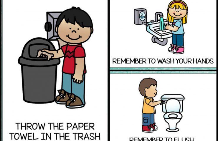 Bathroom Posters {Free Printable}