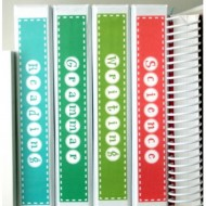 Subject Binder Spine Labels – Free Printable