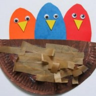 Spring Themed Crafts DIY Birds Nest