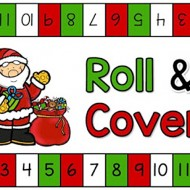 Christmas Roll and Cover {Printable}