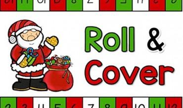 Christmas Roll and Cover {Printable}