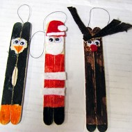How to Make Classic Popsicle Stick Ornaments