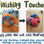 Colorful Ceramic Clay Coral Reefs Art Project