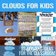 Clouds Science for Kids: 23 Smart Ideas for the Classroom