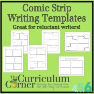 3 Ways to Use a Comic Strip Writing Template