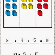 Common Core Math – 3 Addend Addition Workmats