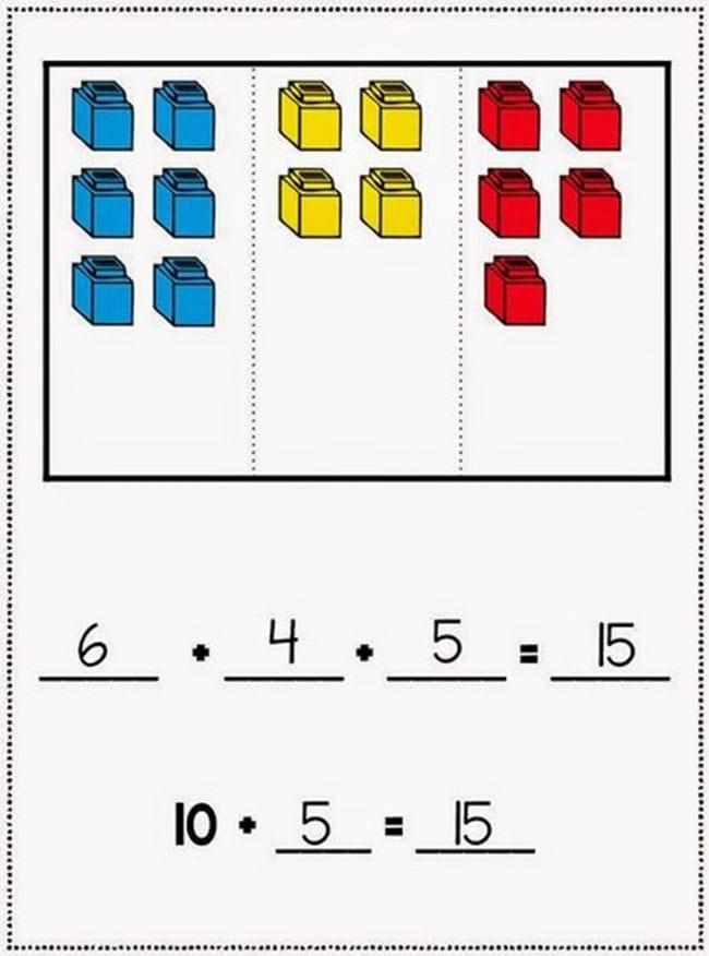 Mitten Addition! Working with 3 addends. | 1st Grade Activities ...