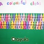 Crayon Bulletin Board Template Freebie