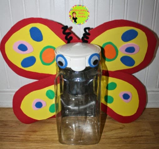 DIY Butterfly Container