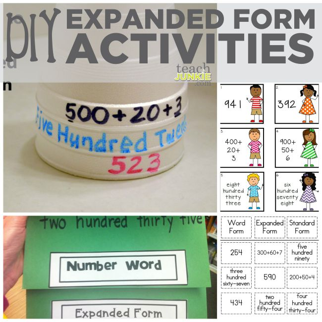 Free Worksheets Place Value Worksheets Expanded Word And – Word Form Math Worksheets
