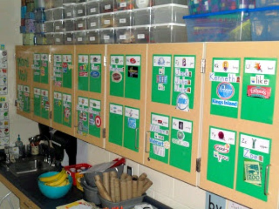 Teach Junkie: 5 Free Printable Word Wall Alphabet Cards - Environmental Print