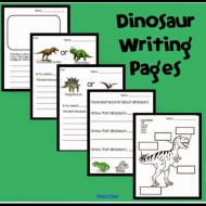 Dinosaurs: What's Your Opinion {Writing Pages}
