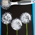 Super Easy Dandelion Art Project - Teach Junkie