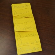 DIY Foldable – Divisibility Rules