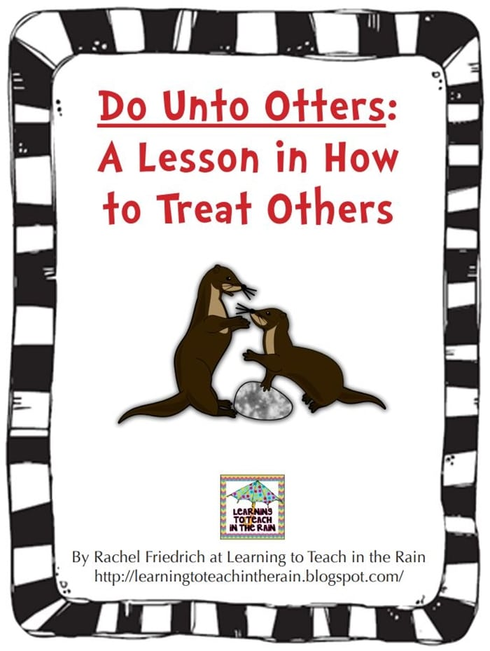 Do Unto Otters Book Activity Suggestions - character education