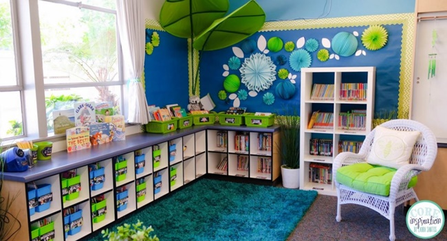 Classroom Library Decorating Ideas ~ Classroom library make it stunning in steps teach junkie