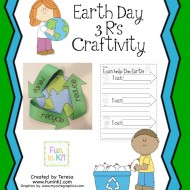 Easy Recycling Earth Day Craft