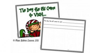 Elf on the Shelf Class Book {Printable}