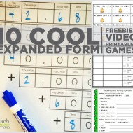 10 Cool Expanded Form Teacher Helpers