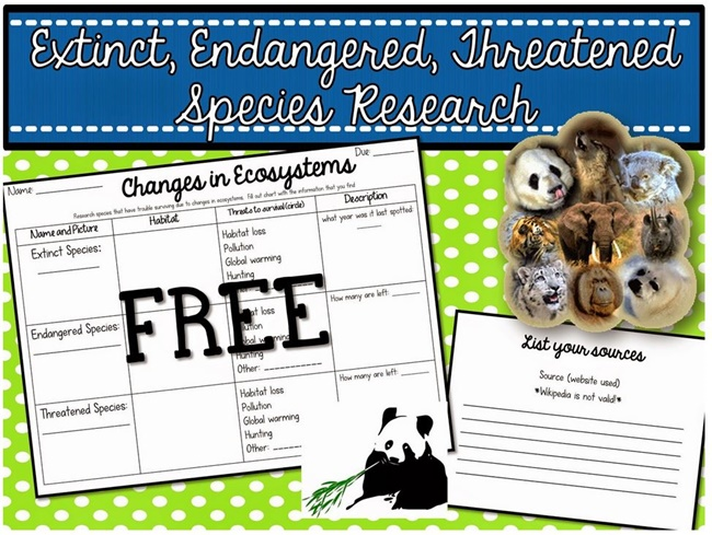 research paper on extinct animals