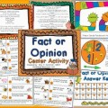 Free Fact or Opinion Printable Game - Teach Junkie