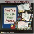 Field Trip Freebies - Teach Junkie