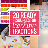 Fractions – 20 Ready to Go Resources and Activities