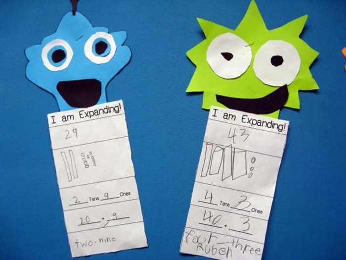 Free August Activities and Printable Resources - place number monsters