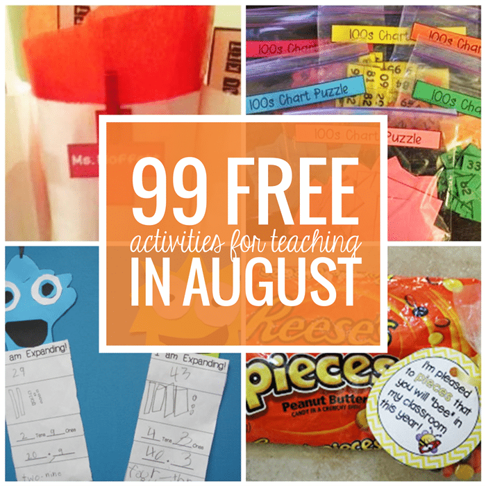 Free August Activities and Printable Resources - Teach Junkie