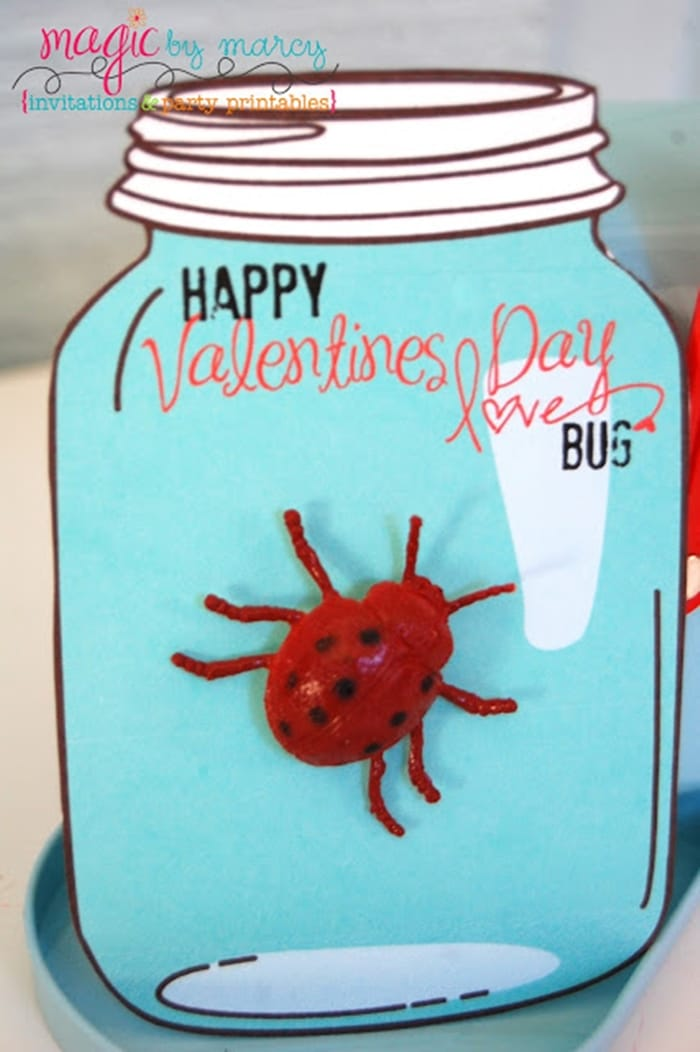 Free February Activities and Printable Resources - teacher valentine love bug