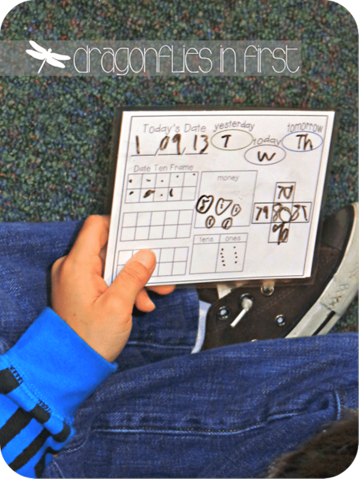 Free January Activities and Printable Resources - calendar math freebie