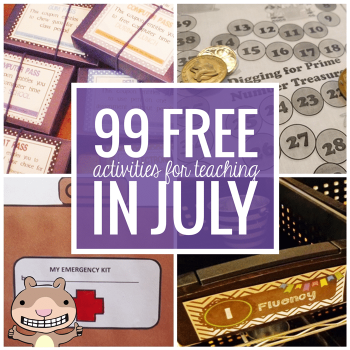 Free July Activities and Printable Resources - Teach Junkie