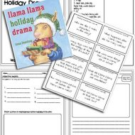 Free Llama Llama Holiday Drama Activities