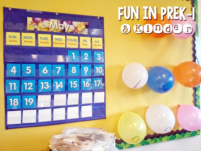 Free May Activities and Printable Resources - balloon countdown