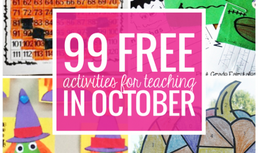 Free October Activities and Printable Resources