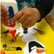 Frozen Olaf Snowman Craft Activity