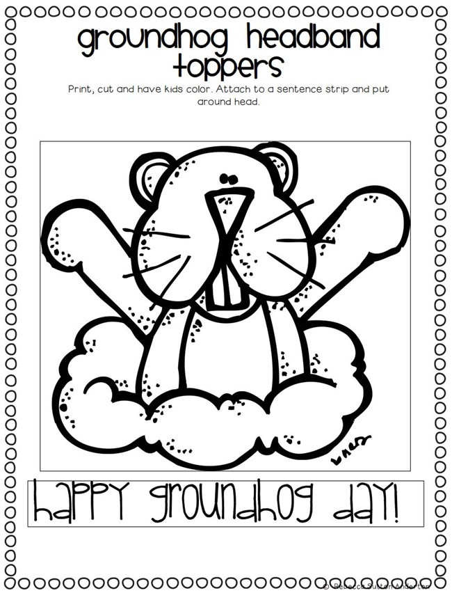 Its Groundhog Day 16 Free Teacher Ideas Teach Junkie – Groundhog Day Math Worksheets
