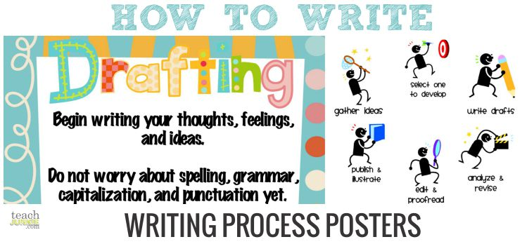 how to write a process