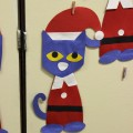 Pete the Cat Saves Christmas Craft Template
